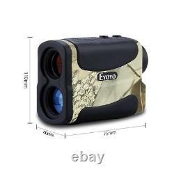 1000Yard 6X Golf Hunting Laser Rangefinder Scan Distance Speed Meter Monocular P