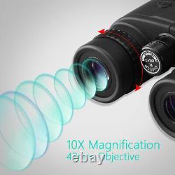 1500M Laser Force Rangefinder Binocular 10X42 Golf Hunting Rangefinder Telescope