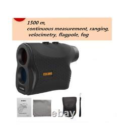 1500M Laser high precision Rangefinder Model LO-2 velocity& Flagpole mode & fog