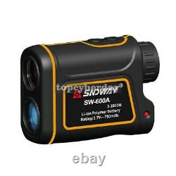 3-600m Golf Laser Range Finder Distance/Height/Angle/Speed Meter Rechargeable