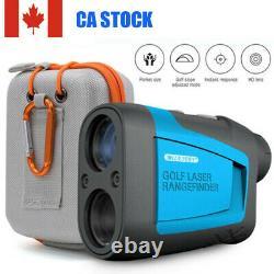 650 Yards Hunting Golf Laser Range Finder WithFLAG-LOCK Vibration 6X Magnification