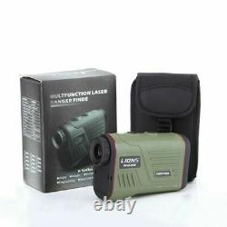 6X22 1000M Laser Rangefinders Speed Angle and Height Measuring Distance Meter