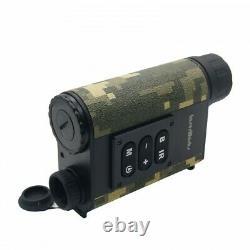 6X Hunting Binocular Laser Range Finder Digital Night Vision IR NV Telescope