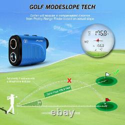 6X LCD Telescope Laser Range Finder Hunting Sport Golf Distance Speed Meter