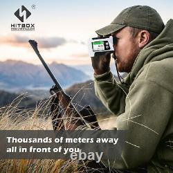 6X LED Digital Golf Hunting Rangefinder Laser Range Finder With Flagpole lock