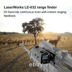 700M Monocular Laser Range Finder Sight Rifle Scope Hunting Speed Range Finder