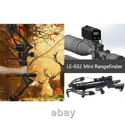 700M Range Finder Rifle Scope Laser Hunting Rangefinders IP68 F Crossbow Archery