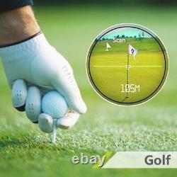 700YD 6X Camo Golf Laser Range Hunt Finder Distance Meter Speed Measurer Scope