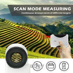 8X Telescope Laser Range Finder Digital Distance Meter Hunting Golf Rangefinder