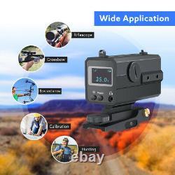 AK800 800M Mini Laser Range Finder Rifle Scope Real-time monitoring for Shooting
