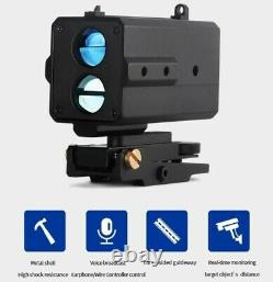 AK800 Mini Tactical Laser Range Finder Rifle Scope Voice Broadcast for Shooting