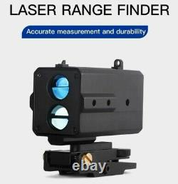 AK800 Mini Tactical Laser Range Finder Three-sided guideway Distance and Angle