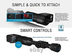 ATN Auxiliary Ballistic Smart Laser Rangefinder withBluetooth, Device Works with