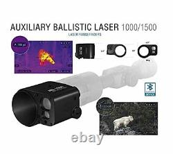 ATN Auxiliary Ballistic Smart Laser Rangefinder withBluetooth device works with