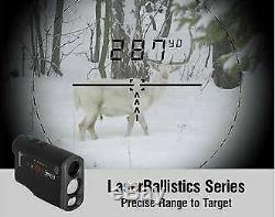 ATN Corporation Laser Ballistics Laser Rangerfinder 1500, Bluetooth Md LBLRF150