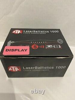 ATN Laser Ballistics 1000 Smart Laser Rangefinder withBluetooth