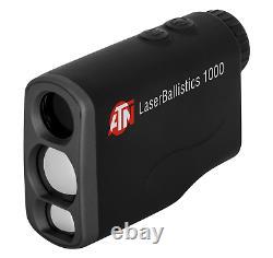 ATN Laser Ballistics 1000 Smart Laser Rangefinder withBluetooth, Device Works with
