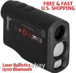 ATN RANGEFINDER Laser Ballistics 1500 Smart Laser MIL & MOA Scopes WithBLUETOOTH