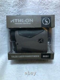 Athlon Optics Talos 800 Yd Laser Rangefinder for Golf or Hunting, Tan