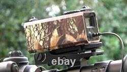 BOBLOV LE-032 Mini 700m Hunting Laser Rangefinder LE- 032 Mounted On Rifle Scope