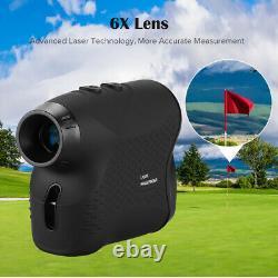 Boblov 6x 600M Distance Meter Digital Telescope Golf Hunting Laser Range Finder