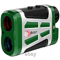 Bozily Golf Range Finder 1500 Yards Laser Rangefinder Hunting with Red/Black 6X