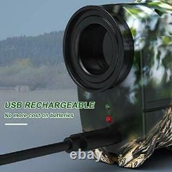 Bozily Hunting Laser Range Finder Golf 1500 Yards, Wild Coma Archery