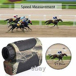 Buscador rango laser Localizador caza binoculares mide la velocidad distancia
