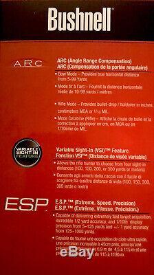 Bushnell Scout DX 1000 ARC 6x Magnification 1000 Yard Laser Rangefinder, Camo