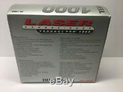 Bushnell Yardage Pro 1000 Laser Range Finder