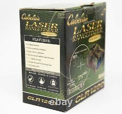 Cabelas Bushnell CLR1200 Laser Hunting Rangefinder 5x Seclusion 3D (New)