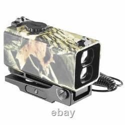 Camouflage Mini Laser Range Finder Mount Rifle Rangefinder Outdoor Hunting