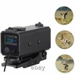 Crossbow Archer Rangefinder Laser Hunting Rangefinders Mini Rifle Scope 700m