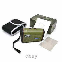 Discovery Laser 600m 1000m Hunting Rangefinders 6X Golf Height Angle Measuring