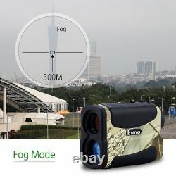 EYOYO 700M Laser Range Finder 6x Monocular Telescope Multifunction For Hunting