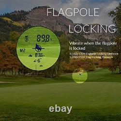 Gogogo Laser Rangefinder For Golf Hunting Range Finder Gift Distance Measuring