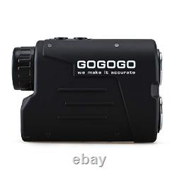 Gogogo Sport Laser Golf/Hunting Rangefinder, 6X Magnification Clear View 650/900