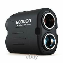 Gogogo Sport Vpro Laser Golf/Hunting Rangefinder, 6X Magnification Clear View 65