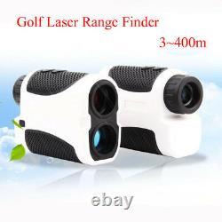 Golf Laser Range Finder LCD 6X 400m 4 Modes Hunting Sports Rangefinder Club Case