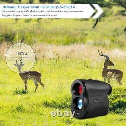 Golf Laser Rangefinder Laser Golf Range Finder Hunting Golf Outdoor 656 Yards