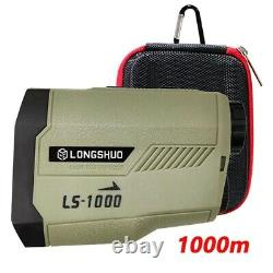 Golf laser rangefinder 1000m 650m Slope Adjusted Flag-Lock telescope Rangefinder