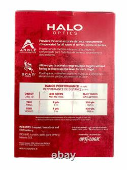 HALO Optics Z1100 Laser Rangefinder Mossy Oak Bottomland Camo New