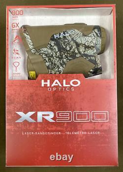 Halo Optics (XR900) Laser Rangefinder (900 yds, 6x) Camo. FREE S&H