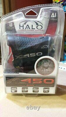 Halo XL450 Range Finder 450 Yard laser range finder for rifle and bow hunting