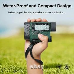 Huepar Golf Laser Rangefinder 1000 Yards 6X Laser Range Finder with Slope Adjust