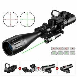 Hunting Rangefinder Reticle Rifle Scope 6-24x50 Aoeg With Holographic 4 Reticle