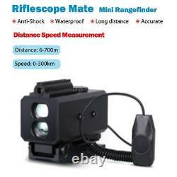 LE032 Hunting Laser Rangefinder 700m Telescope Night Hunting Scope Range Finder