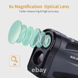 LF1000S Hunting Golf Laser Rangefinder 6x22 Optical 6-1000M Monocular Telescope