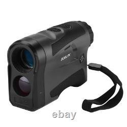 LF1000S Hunting Golf Laser Rangefinder 6x22 Optical 6-1000M Monocular Telescopes