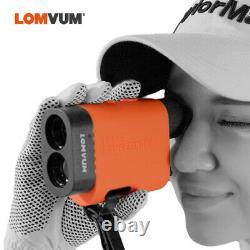 LOMVUM Digital Laser Distance Meter Telescope Rangefinder Golf Hunting 1312yards